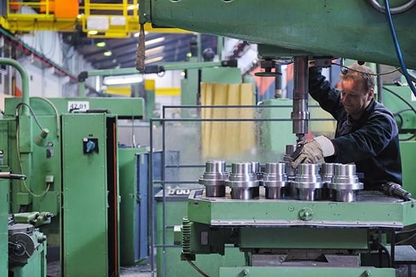 métodos de producción de piezas